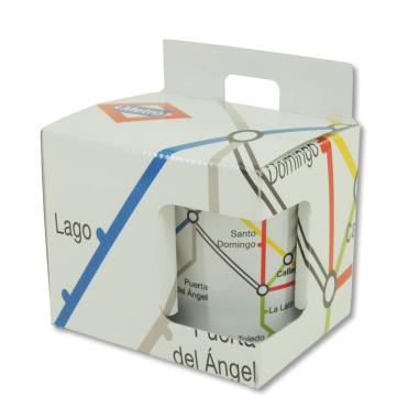 Caja individual sublimable para taza personalizada