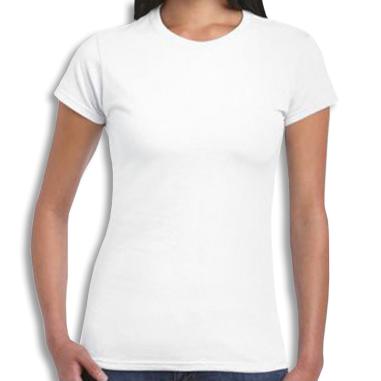 Camiseta de chica para sublimación de 140g