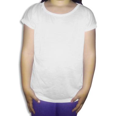 Camiseta de niña para sublimación de 140g