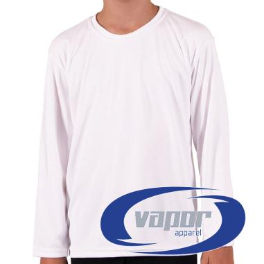 Camiseta de niño Vapor Apparel con protección solar manga larga