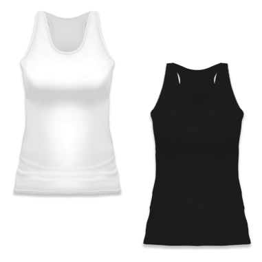 Camiseta tirantes de chica Party 165g 100% algodón