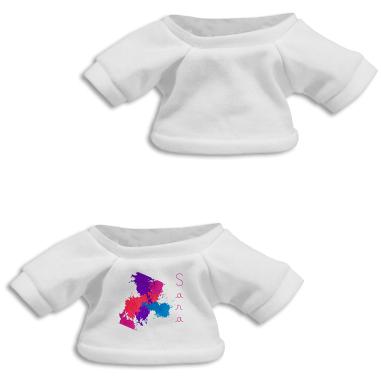 Camisetas para peluches de 18 y 20 cm