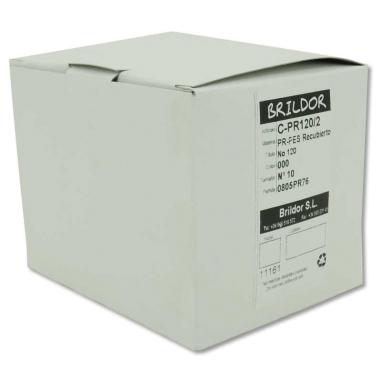 Canillas cocón Poliéster 100% Recubierto PR120/2 - N10 Natural