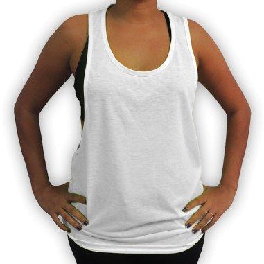 Camiseta Unisex de Tirantes 100% Poliéster