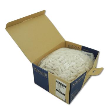 Canillas cocón Algodón mercerizado 100% AM80/2 - N7 Blanco Químico - Bolsa 2,50Kg