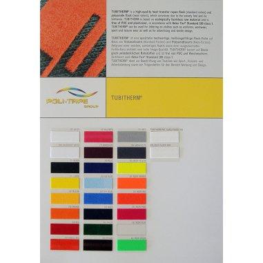 Carta de colores para vinilos Tubitherm
