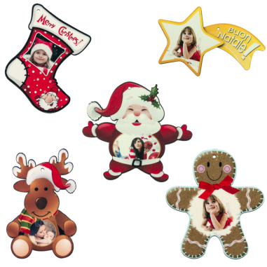 Colgantes de fieltro para árbol de navidad - Pack 10 uds