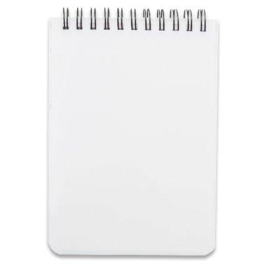 Cuaderno A6 con tapas de plástico y 160 páginas