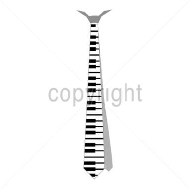 Diseño Transfer Corbata Piano pack 4 uds