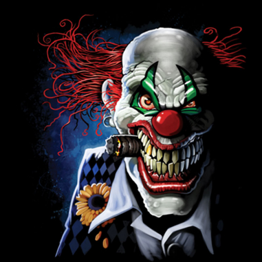 Diseño Transfer Joker Clown