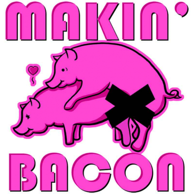 Diseño Transfer Makin' Bacon pack 4 uds