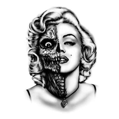 Diseño Transfer Marilyn zombie pack 4 uds