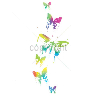 Diseño Transfer Mariposas pack 4 uds