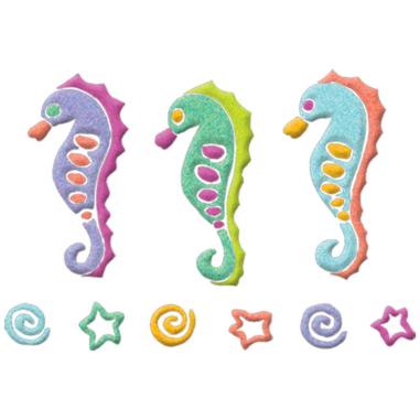 Diseño Transfer Seahorses