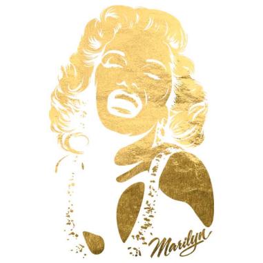 Diseño Transfer Silueta Marilyn pack 4 uds