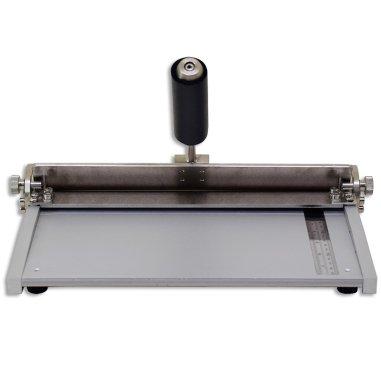 Dobladora para láminas de aluminio