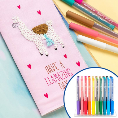 Fabric Quill Pens We R - Rotuladores textiles - Pack de 30 colores