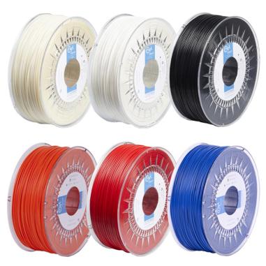 Filamentos ABS-Zero Colores - Rollo 1Kg