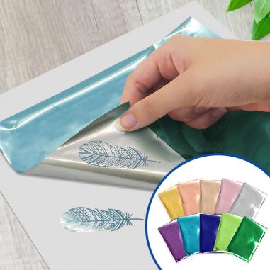 Foil We R - Pack de 30 hojas de 10 x 15 cm surtido de colores