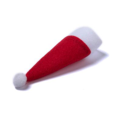 Funda para cubiertos gorro Papa Noel - Pack de 10 uds