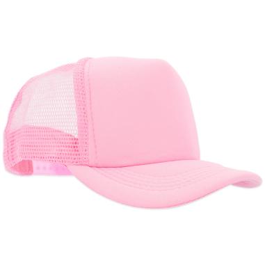Gorra de niño para sublimación color rosa