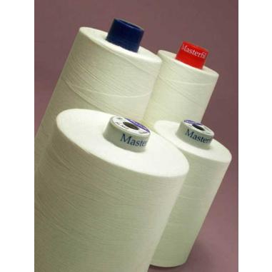 Hilo de coser AL30/3 Algodón 100% - 5.000m Blanco
