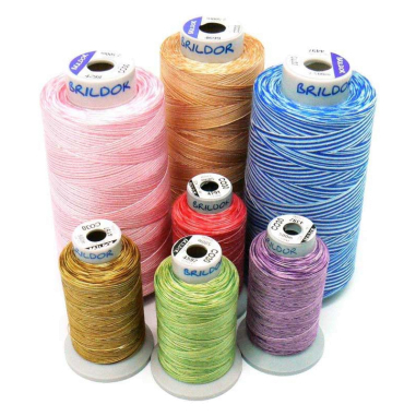 Hilos de bordar CO30 Multicolor Algodón 100%