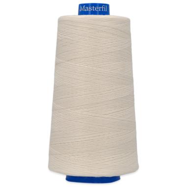 Hilo de coser AM18/3 Algodón mercerizado 100% - 2.500m Blanqueado
