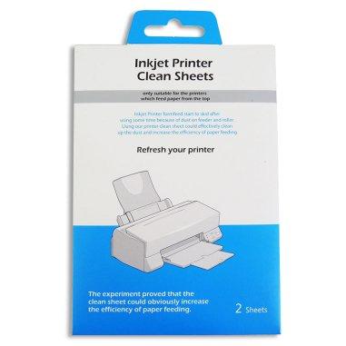 Hojas limpiadoras para impresoras Inkjet
