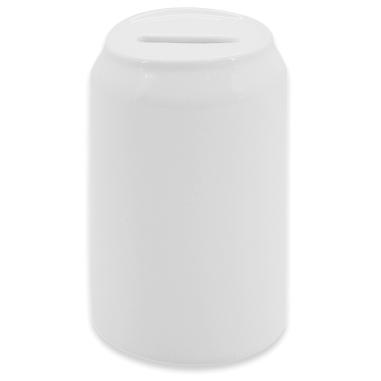 Hucha cerámica para sublimación forma lata de refresco