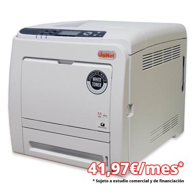 Impresora láser A4 tóner blanco Uninet iColor® 540 - Financiación