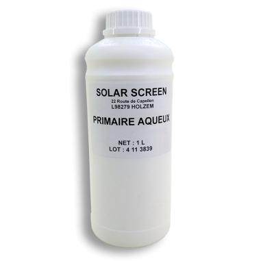 Imprimación base acuosa para aplicación de vinilo decorativo en superficies porosas - Botella de 1L