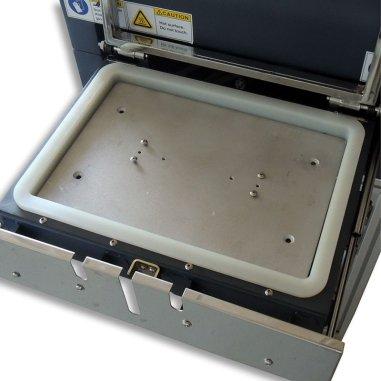 Junta selladora para el horno para sublimación 3D tamaño A3 - Colocada en horno 1