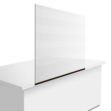 Kit de mampara protectora de 70x50cm