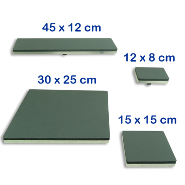 Kit de platos intercambiables para planchas Sefa Rotex Pro y Air Pro