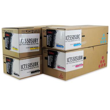 Kit de tóners de sublimación para impresora láser A4 Uninet iColor 540/550