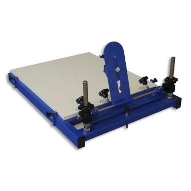 Máquina de serigrafía manual de sobremesa de 1 color