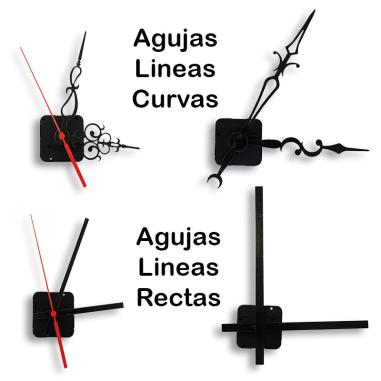Maquinaria y agujas de reloj para paneles hasta 20 mm
