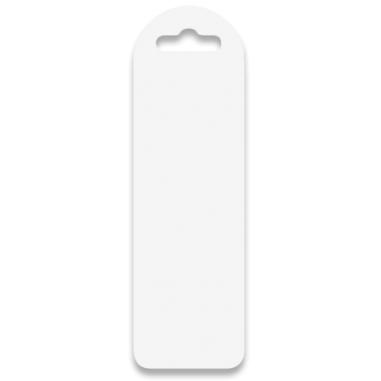 Marcapáginas de plástico de 6 x 19 cm