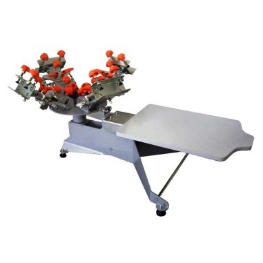 Máquina de serigrafía de sobremesa ISM-4R