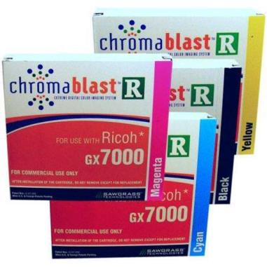 Tinta Chromablast R para impresoras Ricoh GX 7000