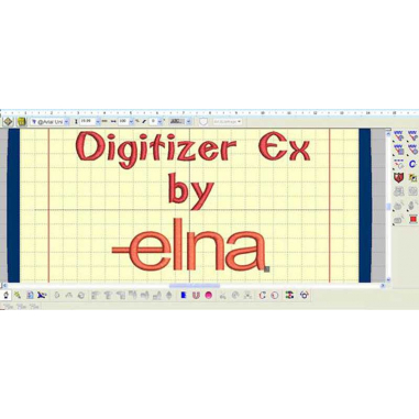 Software Digitizer EX para Elna 9900
