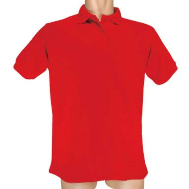 Polo Piqué 190 Rojo