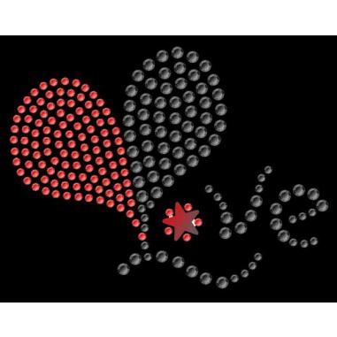 Diseño de pedrería Love
