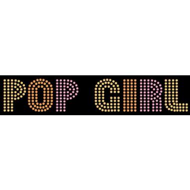 Diseño de pedrería Pop girl