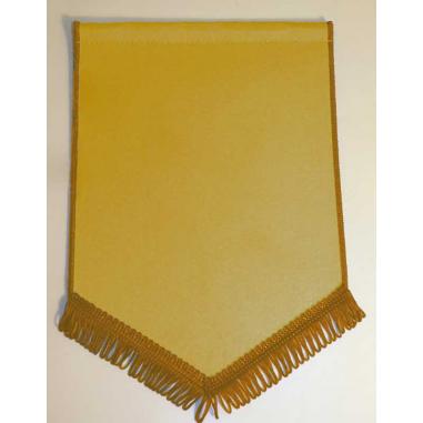 Banderín Escudo 200x130mm Oro