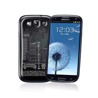Funda protectora gel Jelliskin para Samsung Galaxy SIII Blanca personalizada