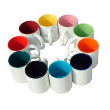Taza con Color en el interior