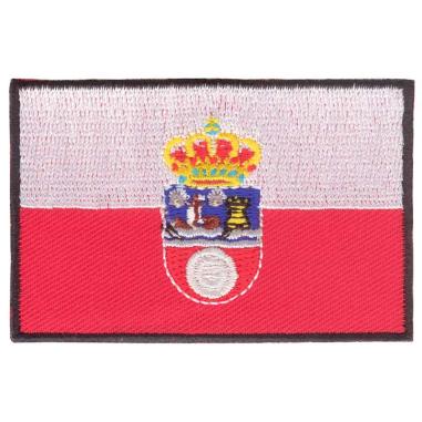 Parche bordado bandera de Cantabria pack 3 uds