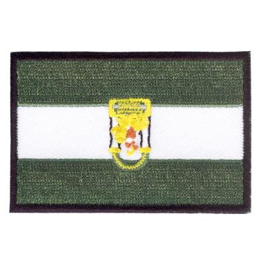 Parche bordado bandera de Andalucía pack 3 uds